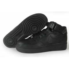Nike Air Force 1 Mid Siyah