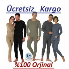 Thermoform Termal İçlik Set Unisex  %100 Orjinal