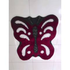 Carpetica �pek Shaggy Kelebek model 1 m2 C245