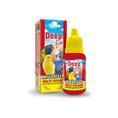 Deep Fix Multisol Kuş Vitamini 30 ml