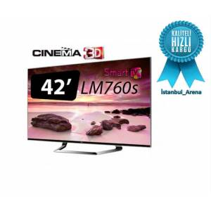 LG 42LM760S 3D 107 cm FULL HD Smart LED TV
