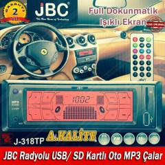 JBC Radyolu USB/ SD Kartl� Oto MP3 �alar