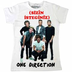 �ZER�NDE �SM�N�Z YAZILI 'ONE DIRECTION' T���RT