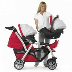 CHİCCO TOGETHER İKİZ TRAVEL SET  RED