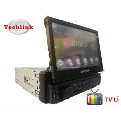 Techlink TE-7500 İn-Dash Tv'li USB-SD  Oto Teyp