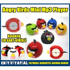 MP3 Player ANGRY BIRDS Mp3 �alar m�zik �alar