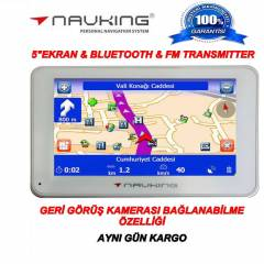 Navking Maxi Elite 5'' Bluetooth, FM Transmitter