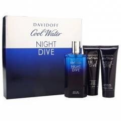 Davidoff Cool Water Night Dive EDT 125 ml+After