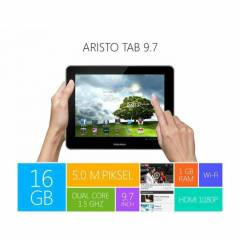 PIRANHA ARISTO 9.7**16GB*3G*Wi-Fi*BLUETOOTH*5MP*
