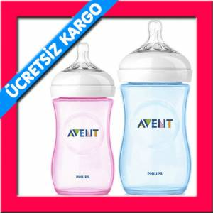 Philips Avent Natural PP Biberon 260 ml / 2 RENK