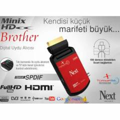 Next Minix HD Brother Uydu Alıcısı + Wifi