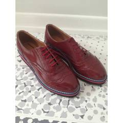 Bordo Oxford Ayakkab�