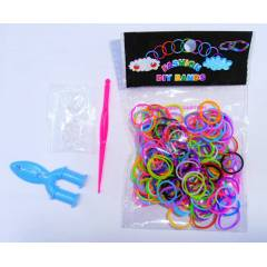 B�LEKL�K YAPMA SET�-COLORFOL LOOM BANDS-180 LSTK