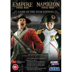 EMPIRE AND NAPOLEON TOTAL WAR GOTY PC OYUNU