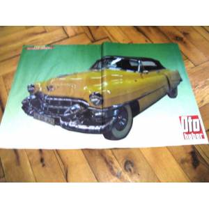 POSTER OTO HABER DERG�S� 53 CADILLAC CONVERTIBLE