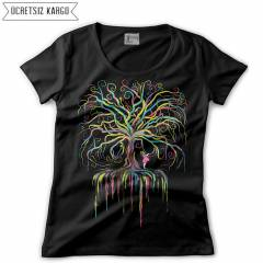Wish Tree Kad�n Ti��rt T-shirt RNS202
