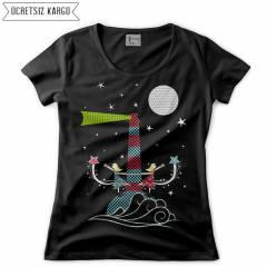 Light House Kad�n Ti��rt T-shirt RNS205