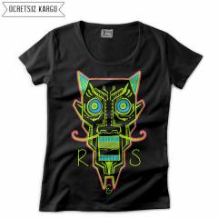 Root And Stone Aziz Kad�n Ti��rt T-shirt RNS206