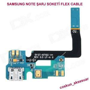 SAMSUNG NOTE 2 �ARJ F�LM SOKET� FLEX CABLE
