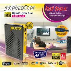 Polaxtor HD Box Full Hd Uydu Alıcı Usb 8000Kanal