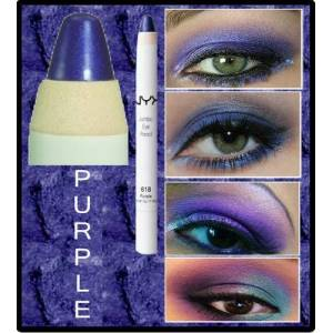 *Nyx Jumbo Eye Pencil PURPLE PELLINI DE