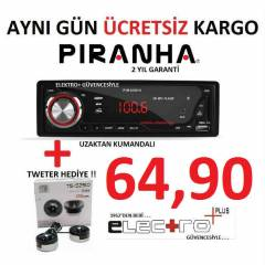 PİRANHA A TYPE MAGİC BOX USB + SD + FM OTO TEYP