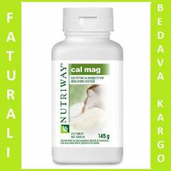 AMWAY NUTRİWAY CALCİUM MAGNESİUM 210 TABLET