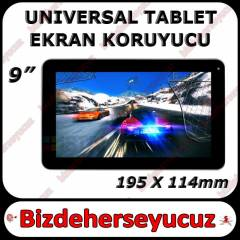 9 in� Universal Tablet Ekran Koruyucu 195 x114mm