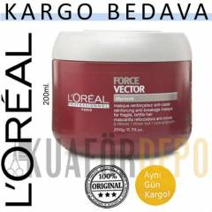 LOREAL SAÇ MASKESİ FORCE VECTOR 200ML. | ARAS