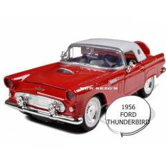 MODEL ARABA 1:24 1956 FORD THUNDERBIRD KAPALI