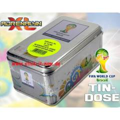 FIFA World Cup 2014 Brasil TIN BOX METAL KUTU
