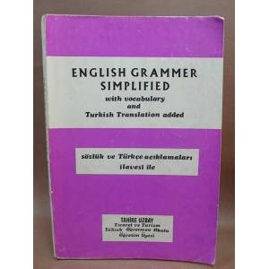English Grammar Simplified Tahire Uzbay msc