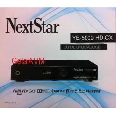 NEXT STAR 5000 HD CX FULLHD UYDU ALICI +BİSS Lİ