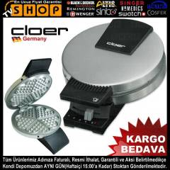 Cloer 189 Wafel Makinas� MAT INOX �EL�K Model
