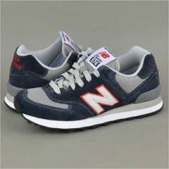 NEW BALANCE 574 NAVY-RED-WHT men shoe