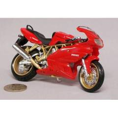 Burago DUCATI SUPERSPORT 900 D�ECAST MOTOS�KLET