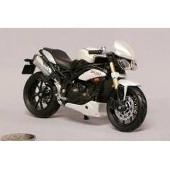 Burago TRUIMPH SPEED TRIPLE D�ECAST MOTOS�KLET