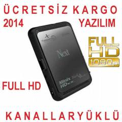 Next Minix Full HD BLACK PLUS Uydu Alıcı +FATURA