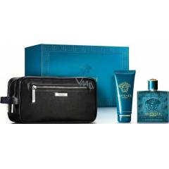 VERSACE EROS SET EDT 100ML+SG 100ML+ÇANTA