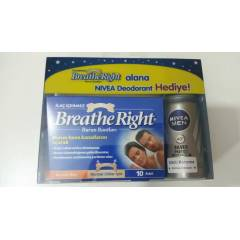 Breathe Right Burun Bandı Normal & Nivea Men Deo