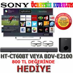 Sony KDL-55W805B Full HD Led Tv 3D +Hediyeler