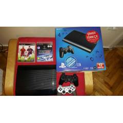 Sony Playstation 3 500 gb + PES 2014 + FIFA 2015