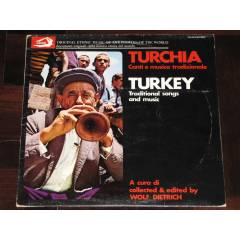 TURKEY Traditional Songs And Music / 33Lp