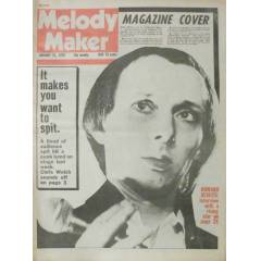 MELODY MAKER 1978 HOWARD DEVOTO-SEX PISTOLS