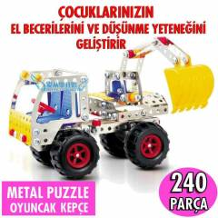 Magical Metal Kep�e Maketi 240 Par�a Komple Set