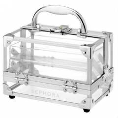 Sephora Clear Transparent Train Case Small
