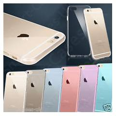 iPhone 6 Silikon K�l�f 0,3 mm �effaf Ultra �nce