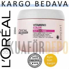LOREAL SAÇ MASKESİ VİTAMİNO COLOR 200ML. | ARAS