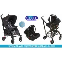 Casual Storm Lüx Baston Travel Sistem Bebek Arab