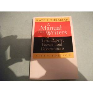 for writers of term papers theses